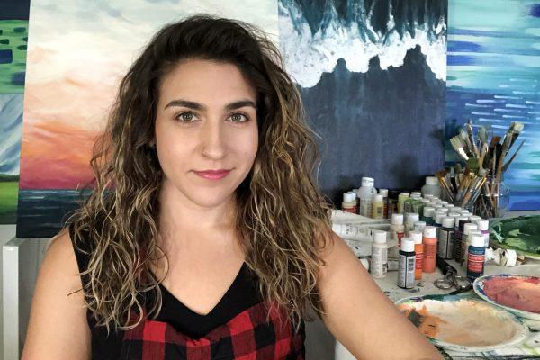 Kelsey In Studio